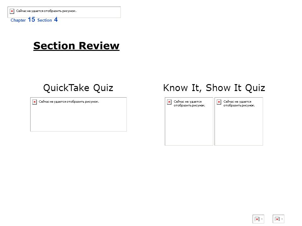 Chapter 15 Section 4 The Civil War and American Life Section Review Know It, Show It QuizQuickTake Quiz