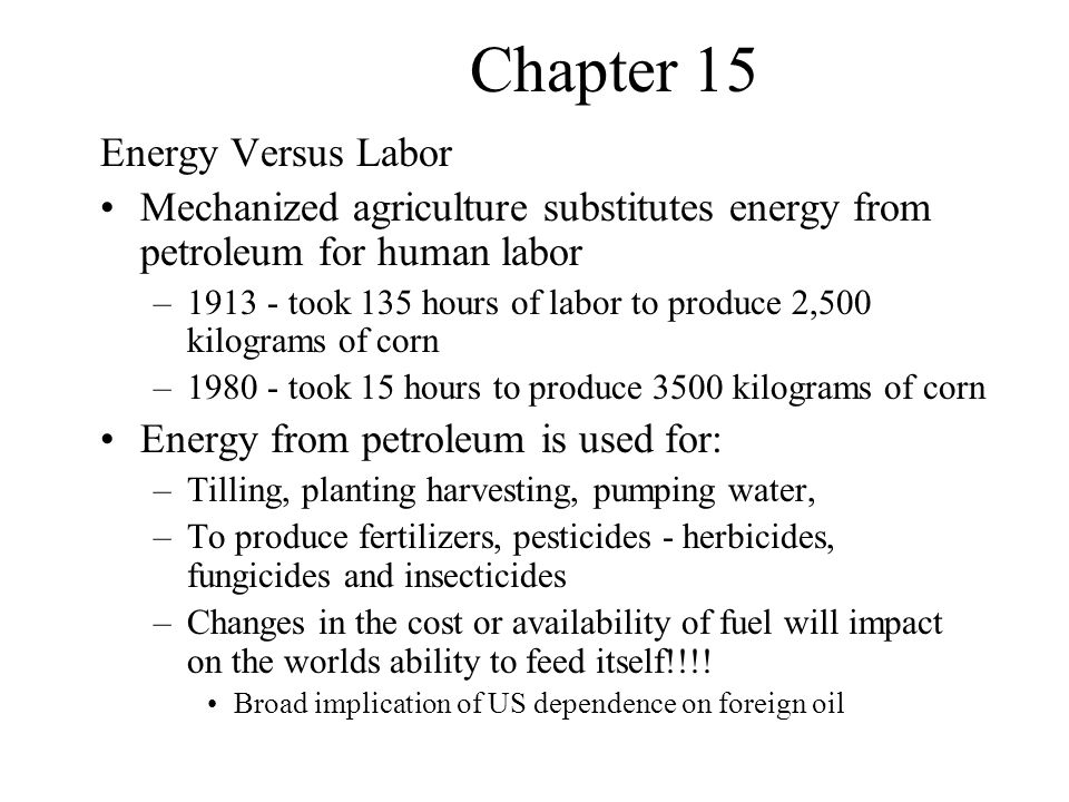 Chapter 15 Impacts of fertilizers 25% of the world's crop yields is attributed to the use of fertilizers - no fertilizers- 25% decrease in food oil costs - poverty- hunger - fertilizer paradox Macro nutrients – nitrogen (N), phosphorus (P), potassium(K)– also C,H,O but… Micronutrient – copper zinc, iron, magnesium, manganese, boron, etc Why do we have to fertilize.
