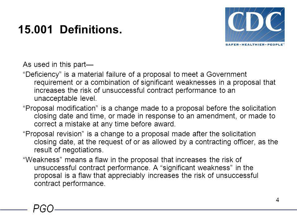 44 15.305 Proposal evaluation, cont.(2) Past performance evaluation.
