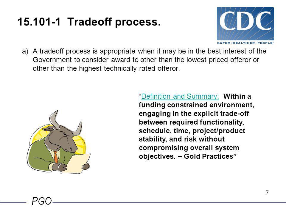 7 15.101-1 Tradeoff process.