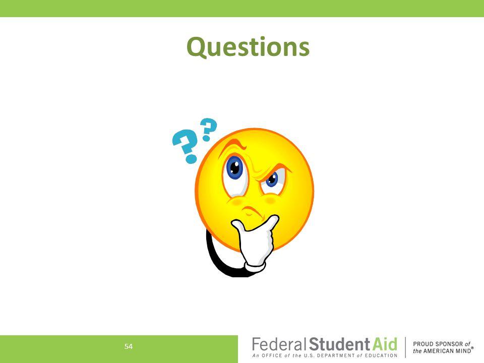 Questions 54