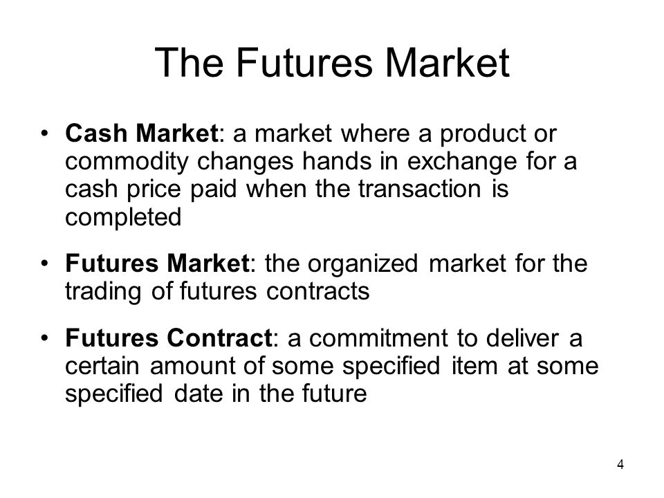 25 Financial Futures Contract Specifications Similar to commodities contracts Control large sums of underlying financial instruments Have varying delivery dates Stock-index futures are settled in cash rather than underlying stocks of the specific stock index.