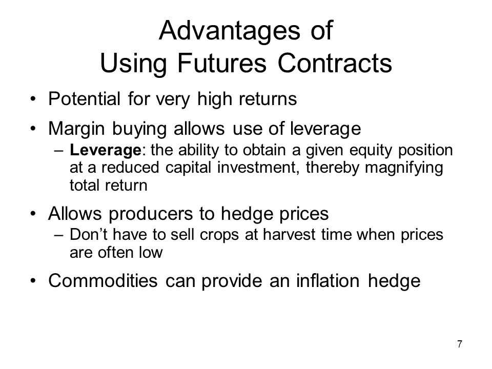 18 Components of a Commodities Contract
