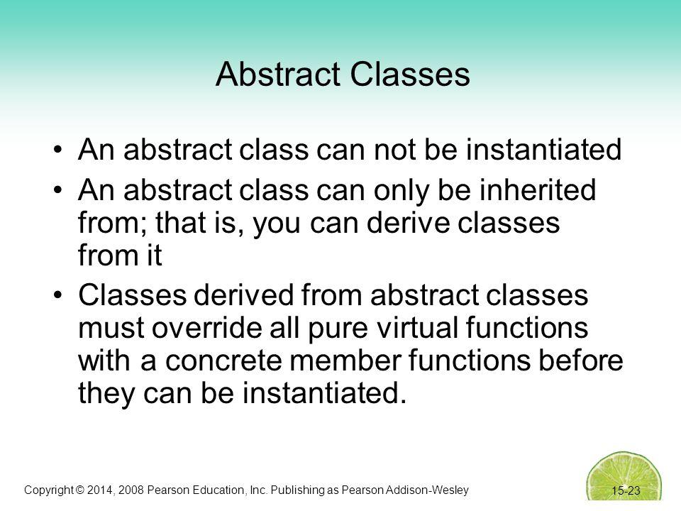 Copyright © 2014, 2008 Pearson Education, Inc.