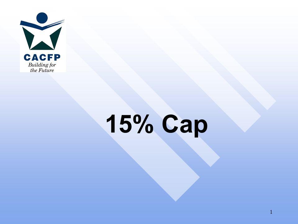 1 15% Cap