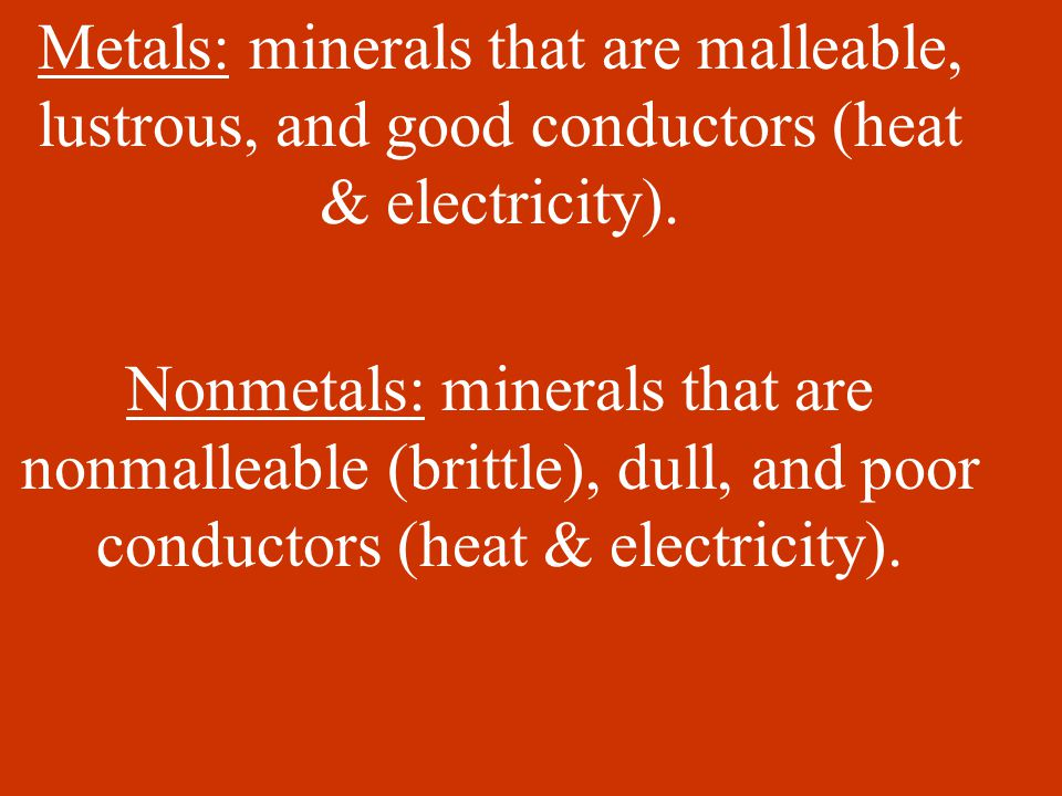 Rocks: Naturally formed aggregates (mixtures of minerals).