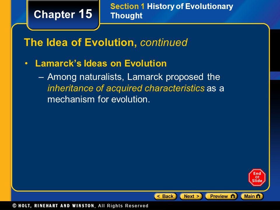 Chapter 15 Section 2 Evidence of Evolution Hemoglobin Comparison