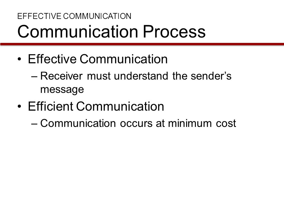 IMPROVING COMMUNICATION Listening Active listening –Helps the source of a message say what he or she really means