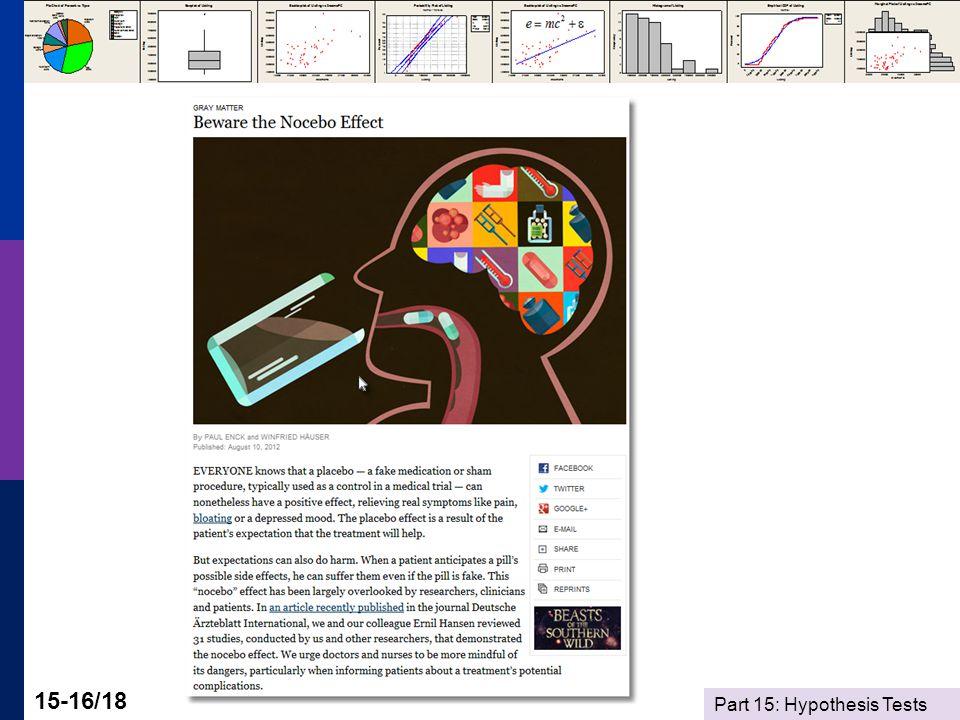 Part 15: Hypothesis Tests 15-16/18