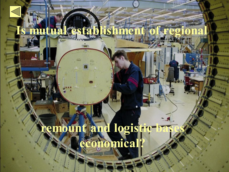 Is mutual establishment of regional remount and logistic bases economical?