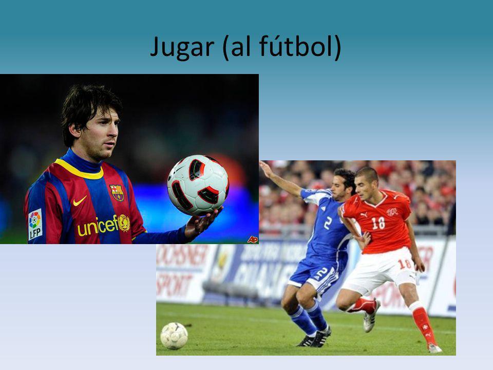 Jugar (al fútbol)