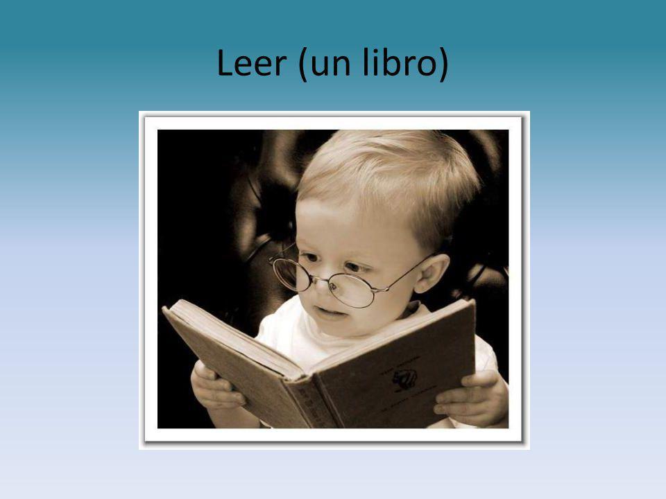 Leer (un libro)