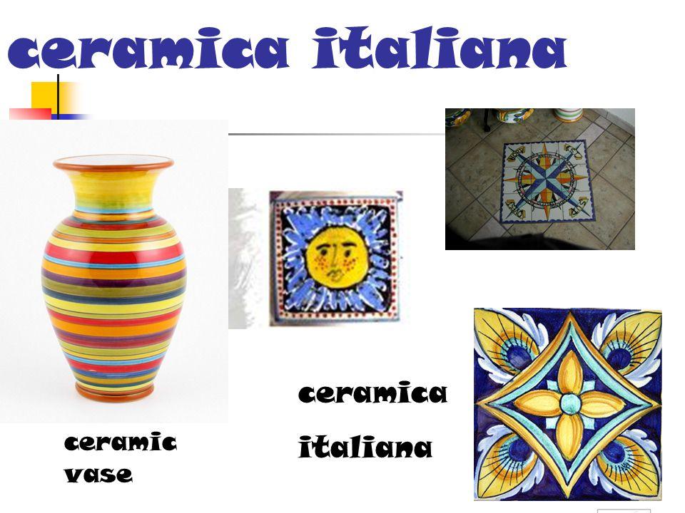 ceramica italiana ceramic vase ceramica italiana