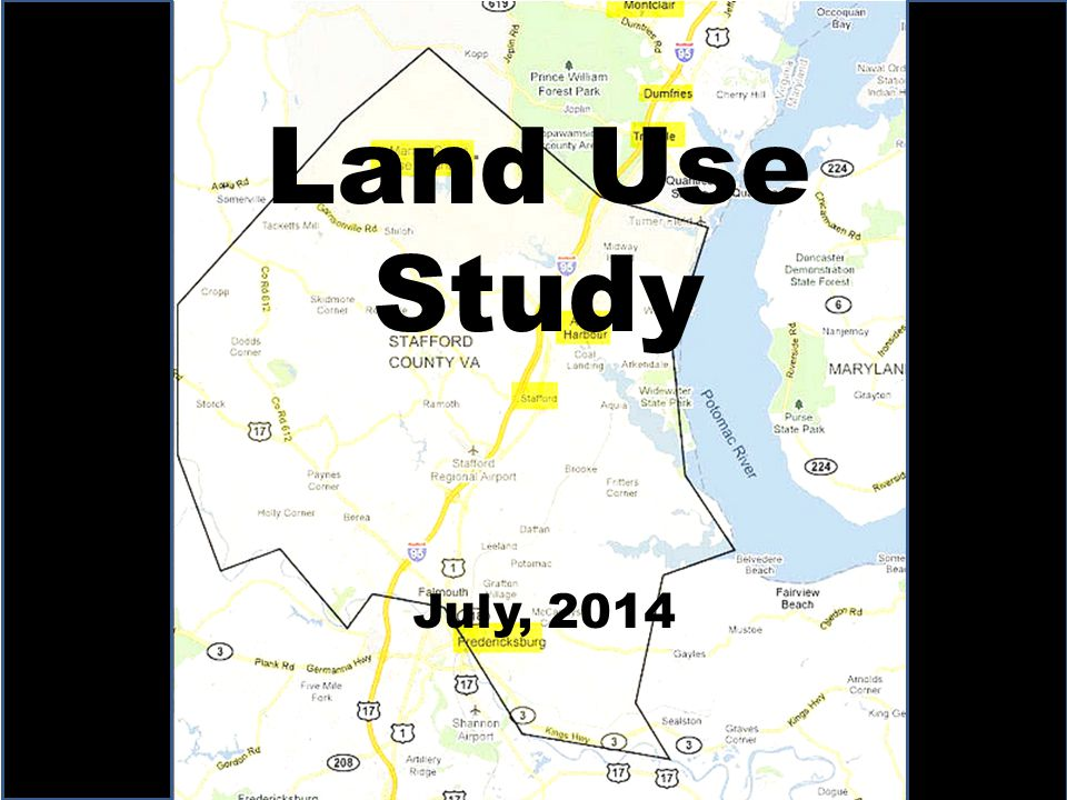 Land Use Study July, 2014