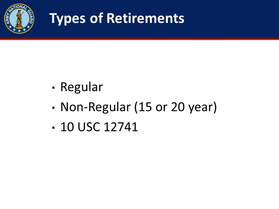 20 years of Active Federal Service from this date = Active Duty Retirement.