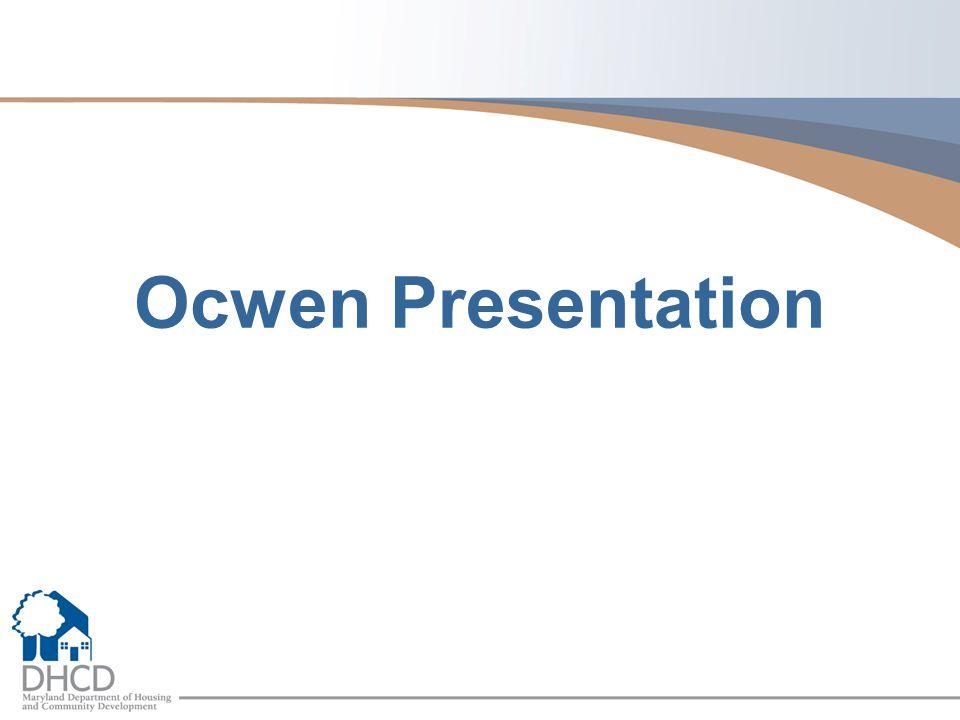Ocwen Presentation