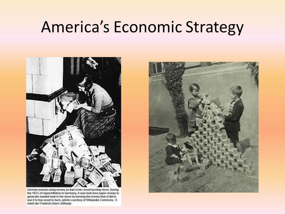 America's Economic Strategy