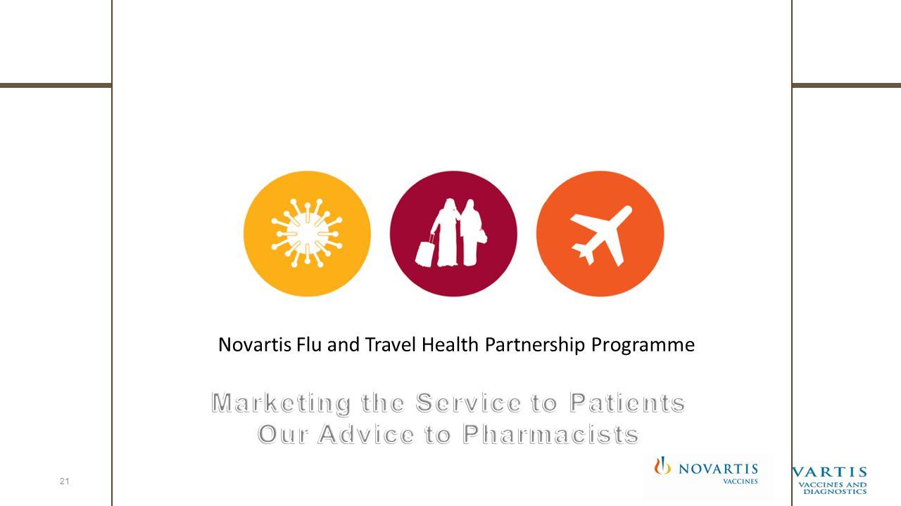 Novartis Flu and Travel Health Partnership Programme 21