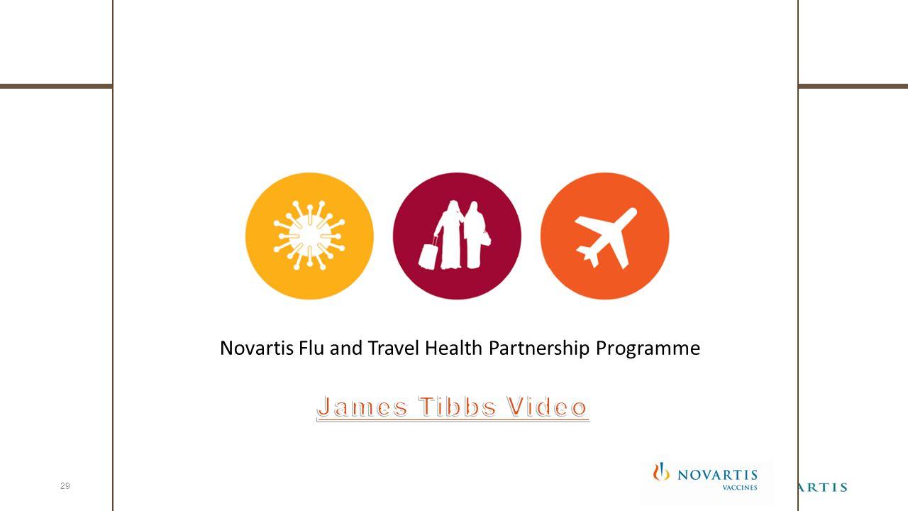 Novartis Flu and Travel Health Partnership Programme 29