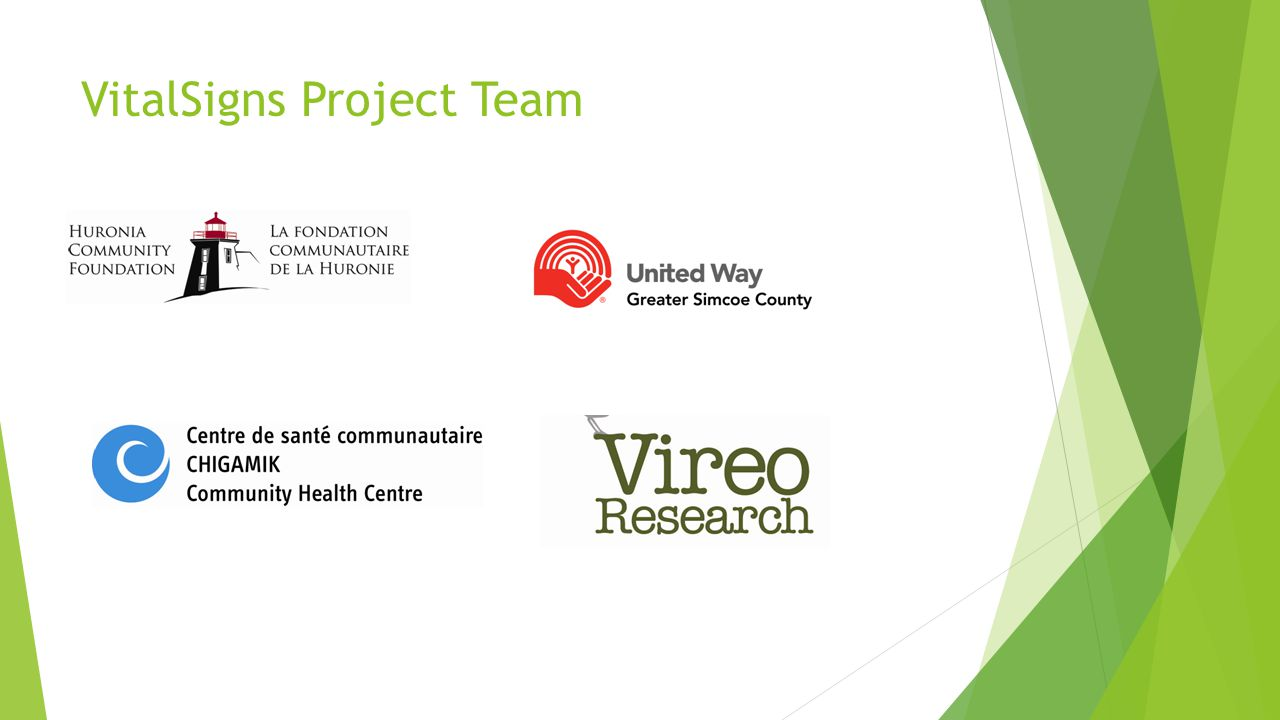 VitalSigns Project Team