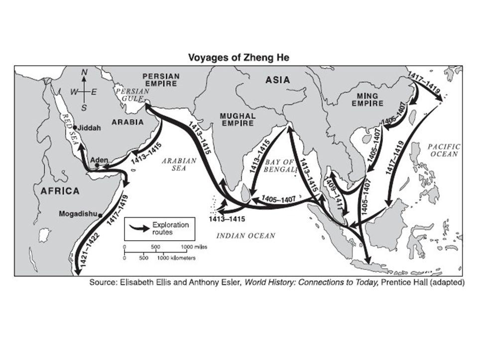 II.European Expansion 1400-1500 2.