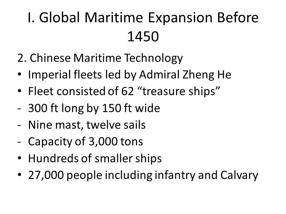 II.European Expansion 1400-1500 B.