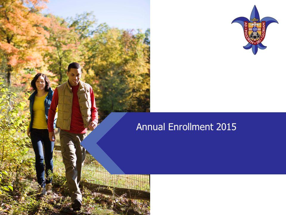 Annual Enrollment 2015