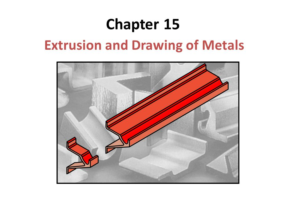 Chapter 15 Extrusion and Drawing of Metals