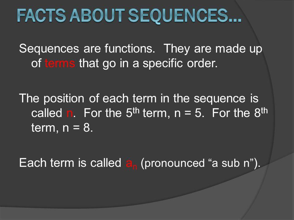 You try:  Choose the correct recursive formula for the sequence 7, 14, 28, 56, 112, … a 1 = 7a 1 = 7 a n = a n-1 ∙ 2 a n = a n-1 + 7 a 1 = 2a 1 = 2 a n = a n-1 + 7a n = a n-1 ∙ 7