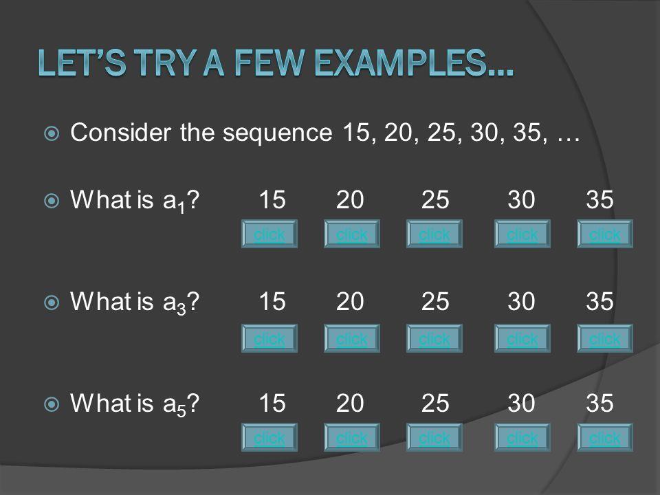  Recursive formulas are the easiest to write.