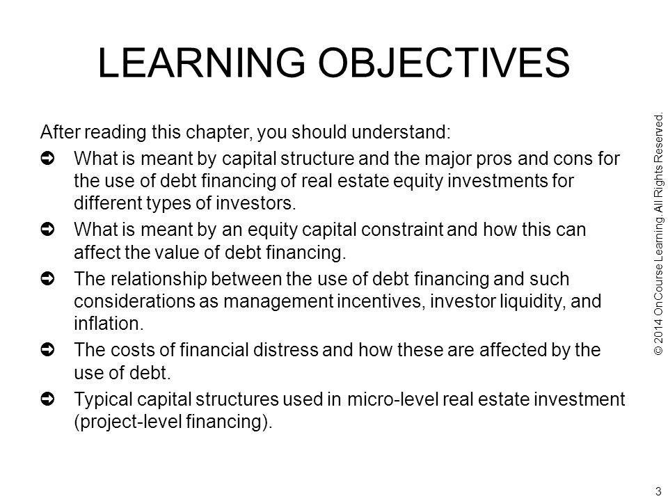 24 15.3.2: Numerical Example of Multi-tiered Project Capital Structure Consider the $1,000,000 apartment property investment example of Ch.14.