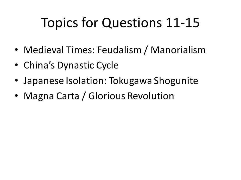 Japan = Isolated Why? Samurai Warrior