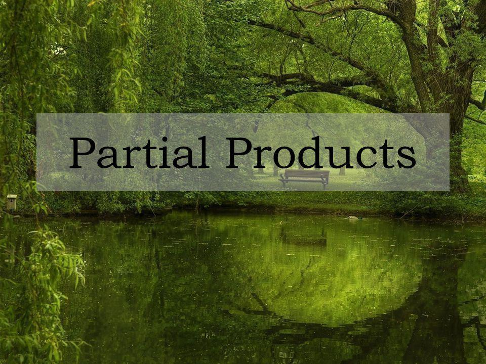 Partial Products