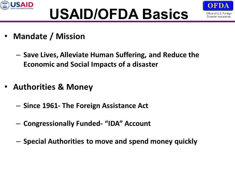 USG POC: D.Chivers@ofda.gov Office of U.S.