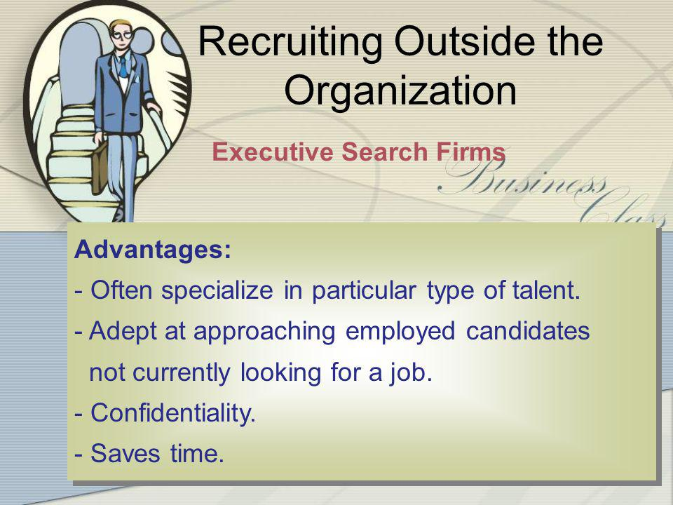 4-20 20 Recruiting Outside the Organization - No HR department.