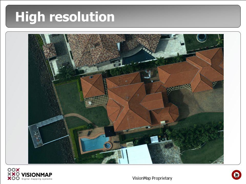 VisionMap Proprietary High resolution 5
