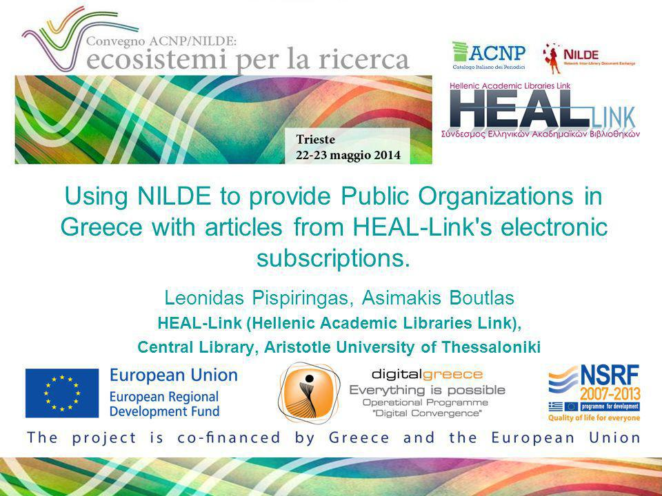 Statistics Παρασκευή, 19 Δεκεμβρίου 2014 ACNP/NILDE, Trieste, Italy August 1st 2013 - May 11th 2014