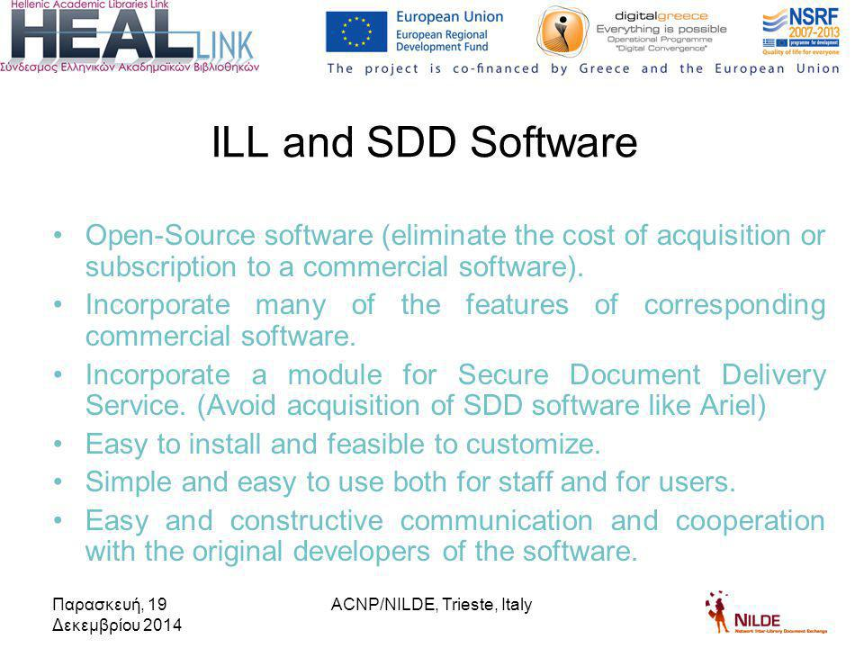 Open-Source software (eliminate the cost of acquisition or subscription to a commercial software).