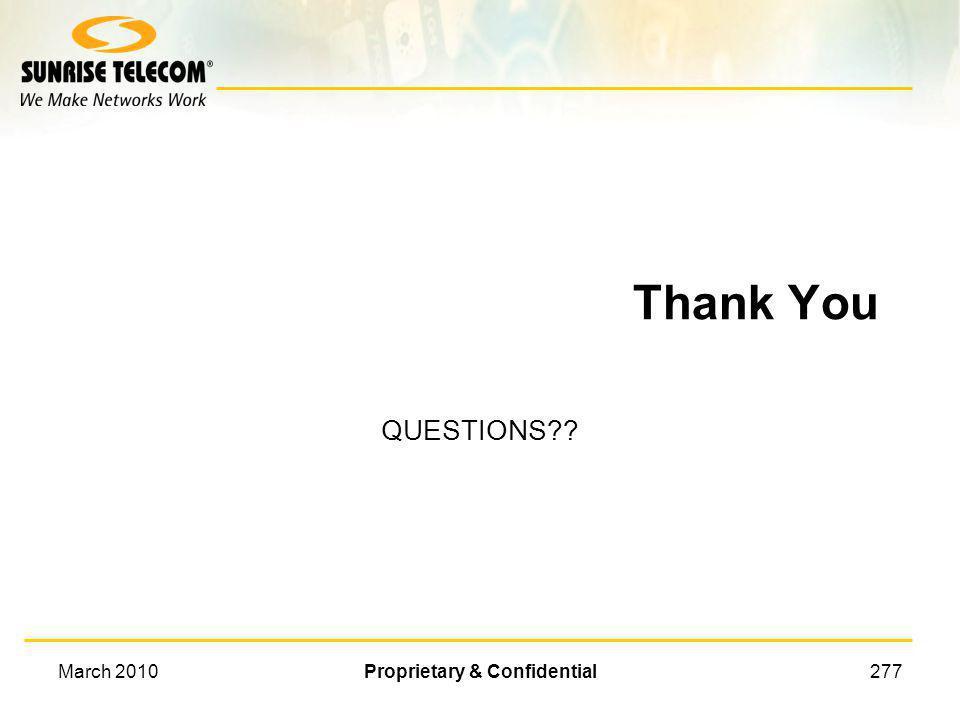 March 2010Proprietary & Confidential276 Architecture of the Future ????????