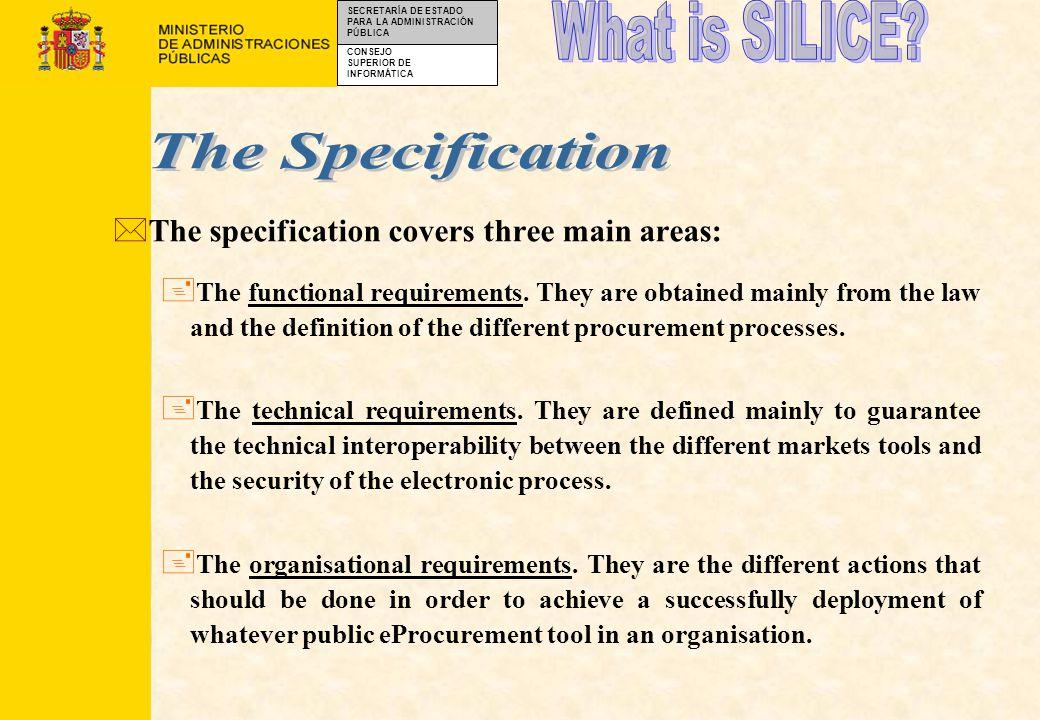 CONSEJO SUPERIOR DE INFORMÁTICA SECRETARÍA DE ESTADO PARA LA ADMINISTRACIÓN PÚBLICA SILICE : GLOBAL MODEL Technical Framework Internet/Intranet technology RDBMS 3 Tiers Client/Server architec.