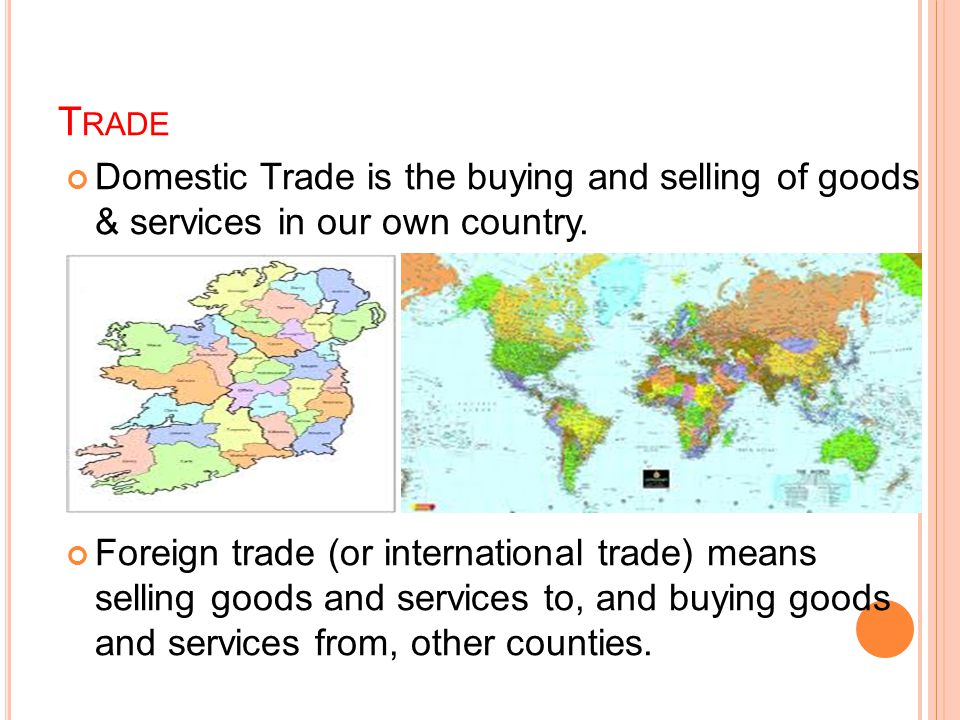 G ROUP W ORK E XERCISE As a group, you need to decide whether the items on your Country card are visible imports or exports.
