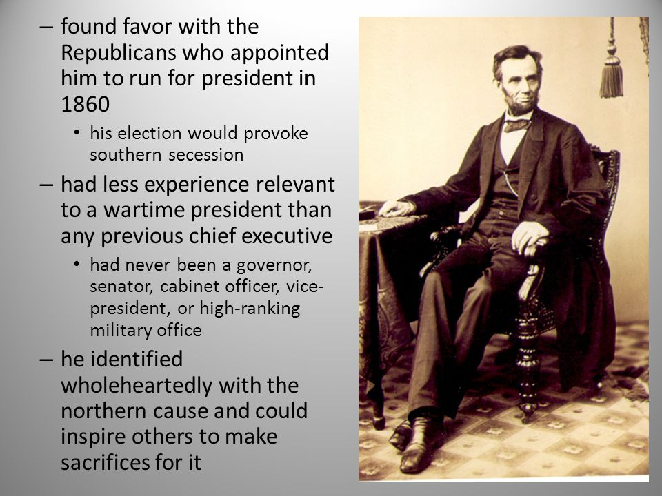 the great truth that the negro is not equal to the white man – that slavery – subordination to the superior race – is his natural condition Confederate Vice-President Alexander Stephens
