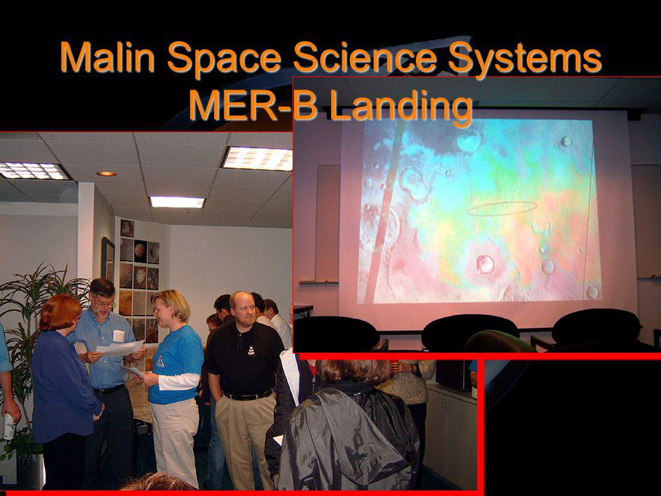 Malin Space Science Systems MER-B Landing