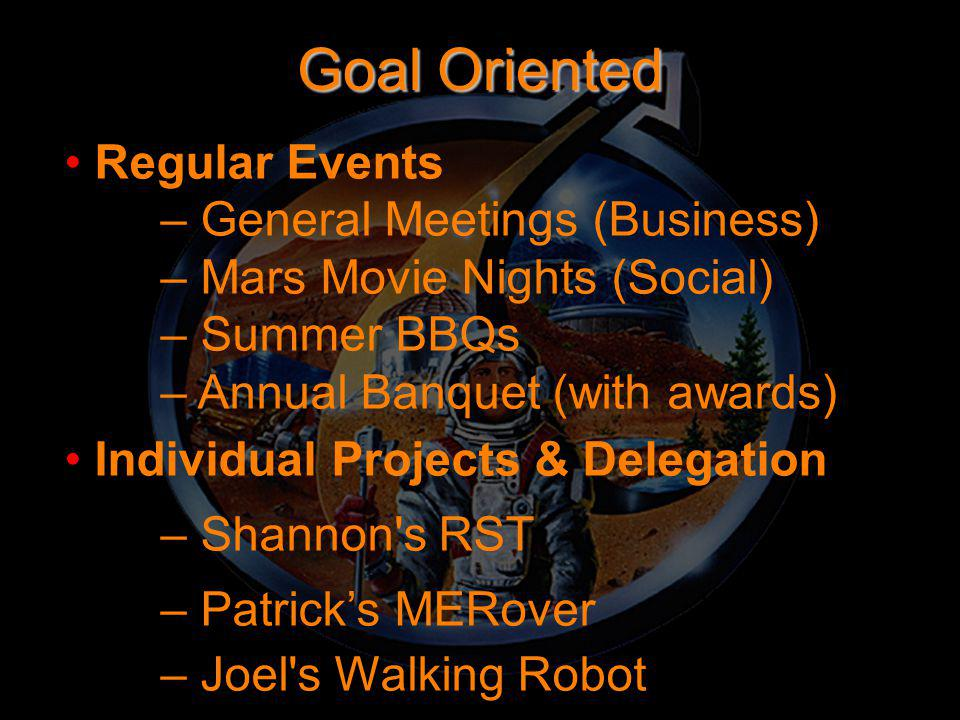 Public Relations, Outreach & Education Educational Outreach: – Project Astro – Sally Ride Science Festivals & TOYchallenge – Teacher Conferences – Classroom Visits – Model Rocket Launches – Make Your Presence Known at Many Events Be in the Public Eye – Where the Tourists Are