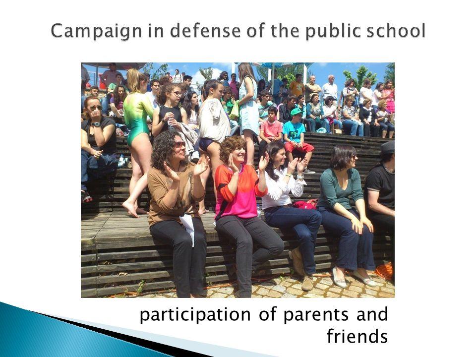 participation of parents and friends