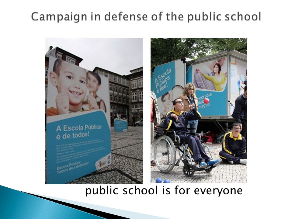 This campaign counts also with: - A flyer for distribution to the population