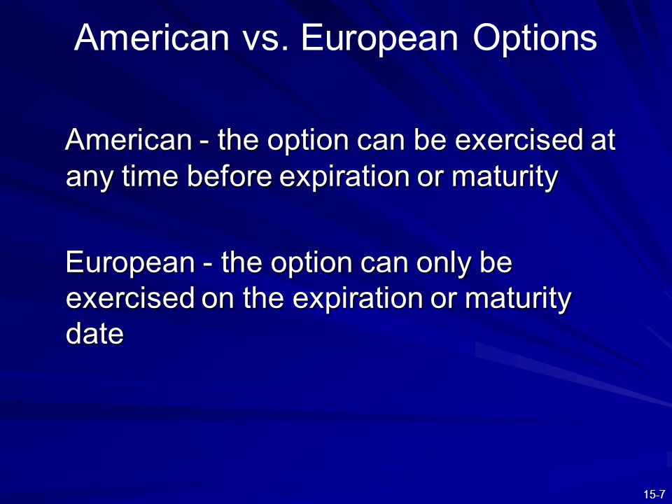 15-8 The Option Clearing Corporation Jointly owned by the exchanges on which options are traded The OCC places itself between options traders OCC guarantees contract performance –Thus option writers are required to post margin
