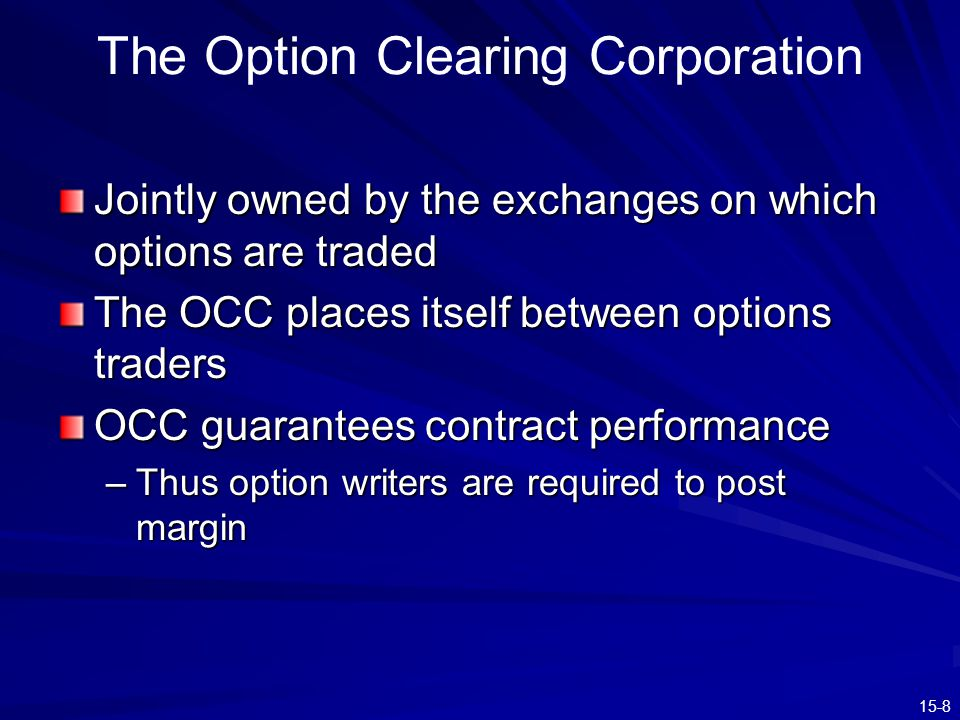 15-19 Equity, Options & Options Plus T-Bills - Text Example IBM Stock Price $85$100$110 All Stock$8,500$10,000$11,000 All Options$0$9,000$18,000 Lev Equity $8,160$9,160 $10,160