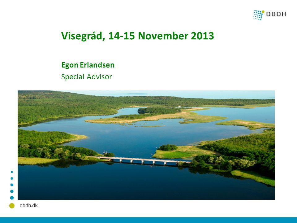 Visegrád, 14-15 November 2013 Egon Erlandsen Special Advisor
