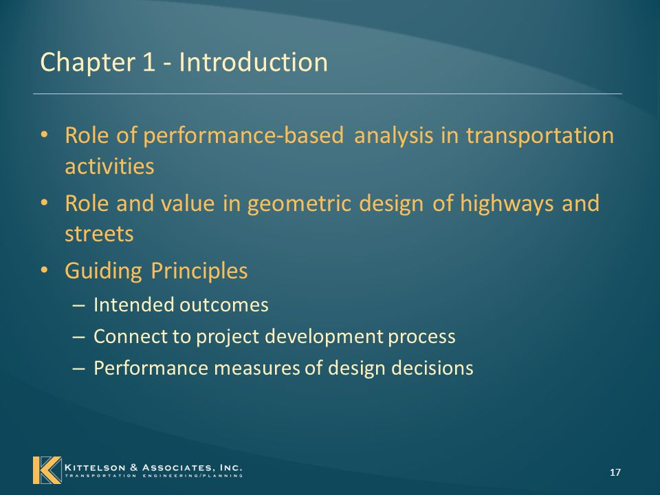 Chapter 1 - Introduction Fundamental model of the approach 18